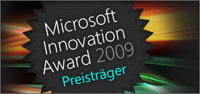Innovation award banner
